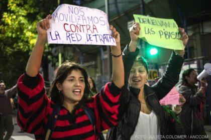 Floresta contra la Trata | Marcha y denuncia contra los prostíbulos ubicados sobre Juan B Justo
