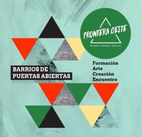 Arranca Frontera Oeste, la propuesta cultural gratuita de Versalles, Villa Luro y Villa Real premiada en el programa Barrios Creativos