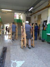 Comenzó la mudanza del Yrurtia | Desde el lunes se dictarán las clases en el nuevo edificio