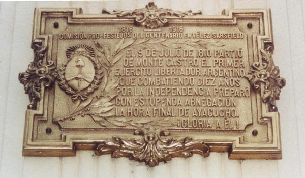 Historias de un barrio con historia | Monte Castro, cuna del Ejército Patrio