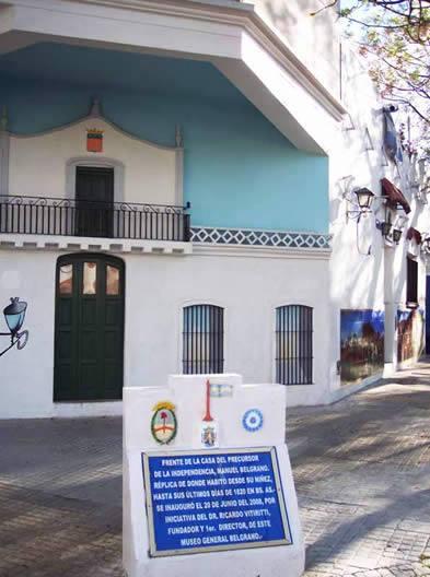 Villa Luro y un museo dedicado íntegramente a Manuel Belgrano