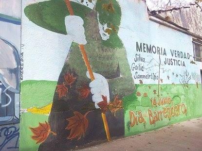 Día del barrendero: Floresta homenajea a los trabajadores desaparecidos del Corralón y exige el Espacio de Memoria