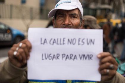 Apagá el fuego de la violencia | Jornada para repudiar la violencia contra las personas en situación de calle