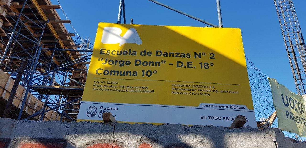 La justicia le ordenó al Gobierno que arregle la Escuela de Danzas Jorge Donn y que termine el nuevo edificio