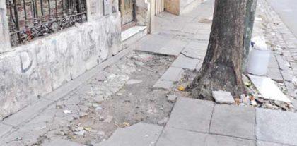 Veredas rotas en el barrio: conocé cómo denunciar problemas e incumplimientos desde el celular