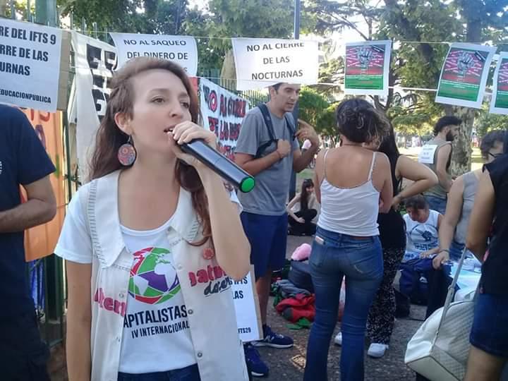 Elecciones en la Comuna 10   Gisell Franco, candidata del Frente de Izquierda-Unidad
