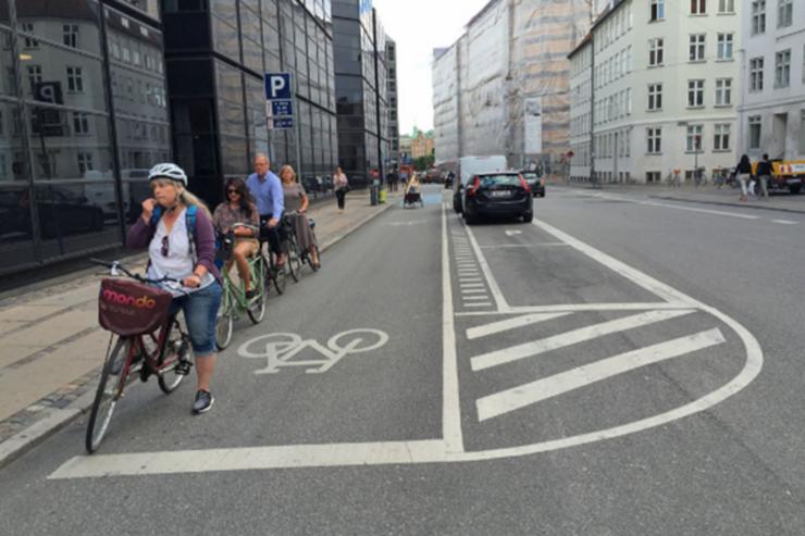Floresta: instalarán una ciclovía sobre César Díaz donde los autos podrán estacionar en forma paralela