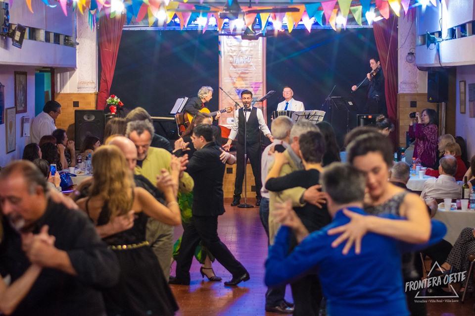 El sábado 19, el tango se baila en Versalles | Nueva edición de la milonga gratuita de Frontera Oeste