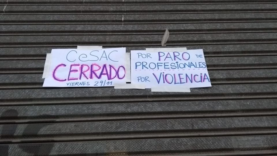 Floresta: El CeSAC 36 paró en defensa de los residentes reprimidos en la Legislatura