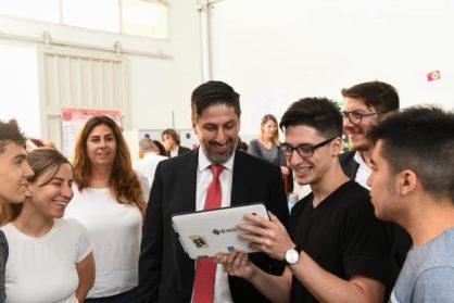 El ministro de Educación visitó la Escuela Técnica N° 35 Eduardo Latzina