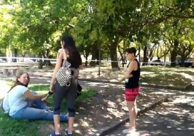Los comuneros del Frente de Todos exigieron respuestas del gobierno porteño | Tras la descarga eléctrica en la plaza Monte Castro