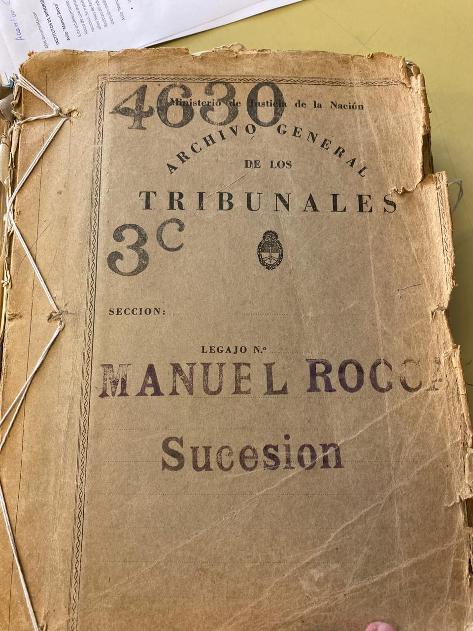 Encontraron el testamento de Manuel Rocca y se confirma que en el predio de Segurola 1651 debe construirse un Polo Educativo