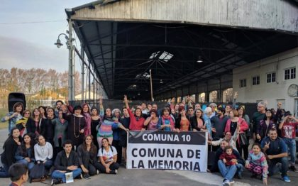 Comuna de la Memoria | Invitan a pintar pañuelos y afiches a 44 años del último golpe de Estado