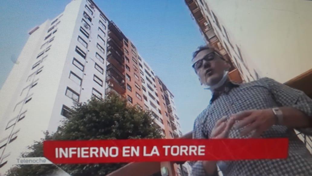 Malestar en Villa Luro por el informe de Canal 13 sobre un caso de coronavirus | Prensa amarillista en horario central