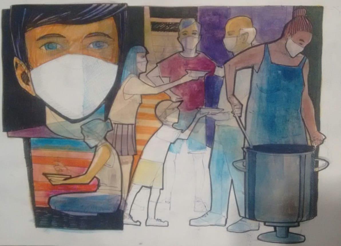 Si no hay amor que no haya nada | Pandemia y solidaridad en la Comuna 10