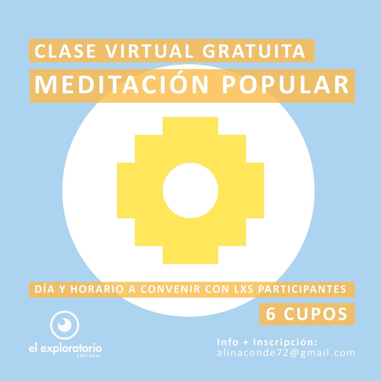 Farmacoop: Arranca a funcionar El Exploratorio con clases de Meditación Popular