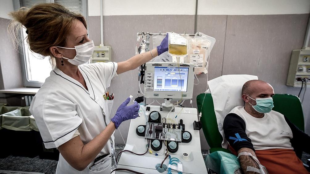El fomento a la donación de plasma es Ley en la Ciudad| Funciona como potencial tratamiento para enfermos de coronavirus