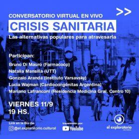 El rol de las organizaciones sociales y civiles en tiempos de pandemia | Conversatorio en la Comuna 10