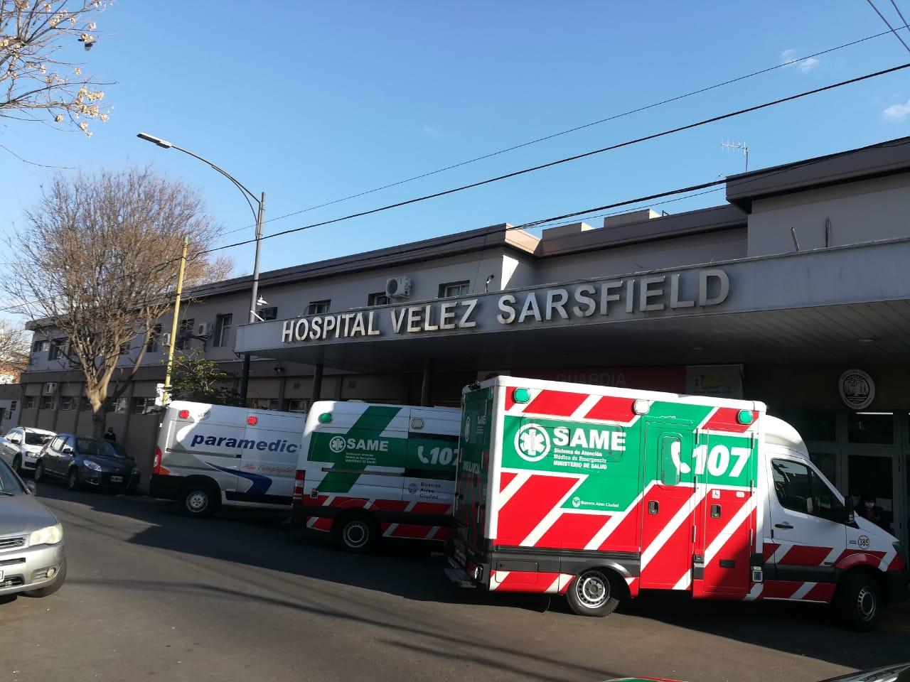 Preocupación por el estado del Hospital Vélez Sarsfield | Dudas tras el fallecimiento de una paciente de 87 años