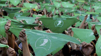 Corralón Verde | Realizán un pañuelazo en Floresta