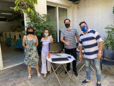La Junta Comunal 10 realizó su primera reunión de 2021 | Postas de vacunación, poda de Tipas y Dengue, entre los temas conversados