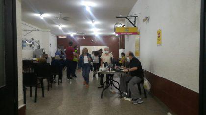 Camino a la inmunidad | Comenzó la vacunación a adultos mayores de 80 en la Comuna 10
