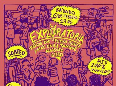 Sábado de música, terraza y cooperación en el oeste porteño | La Exploratoria, un encuentro para potenciar la cultura en las comunas 9 y 10