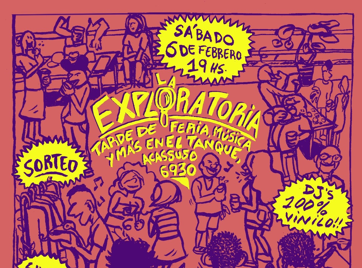 Sábado de música, terraza y cooperación en el oeste porteño   La Exploratoria, un encuentro para potenciar la cultura en las comunas 9 y 10