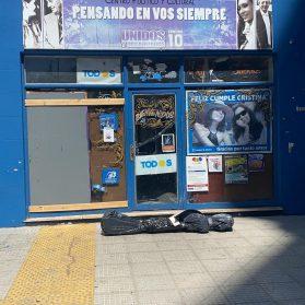 Insisten con el odio | Bolsas mortuorias en una Unidad Básica de la Comuna 10