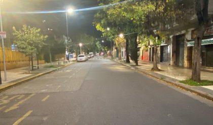Amplio acatamiento a las restricciones de circulación en la Comuna 10