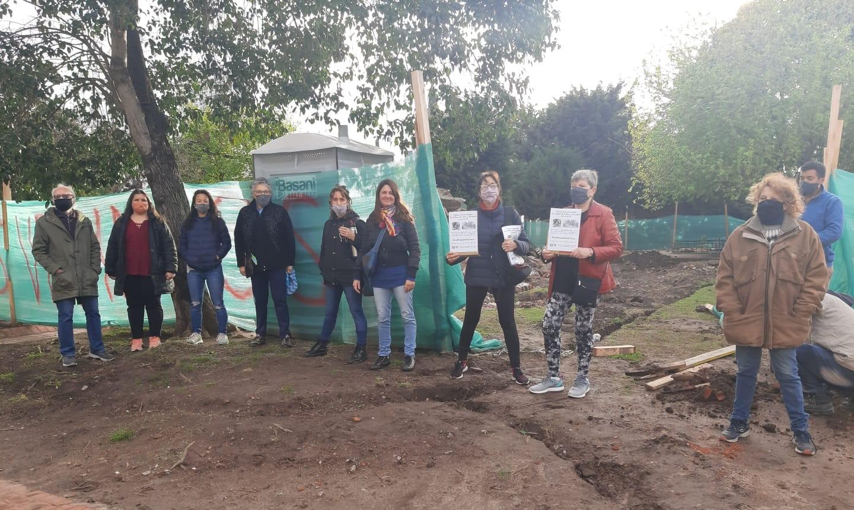Floresta: vecinos se organizan para proteger la identidad barrial | Exigen consensuar con la Comuna la puesta en valor de la Plaza de Falcón y Benedetti