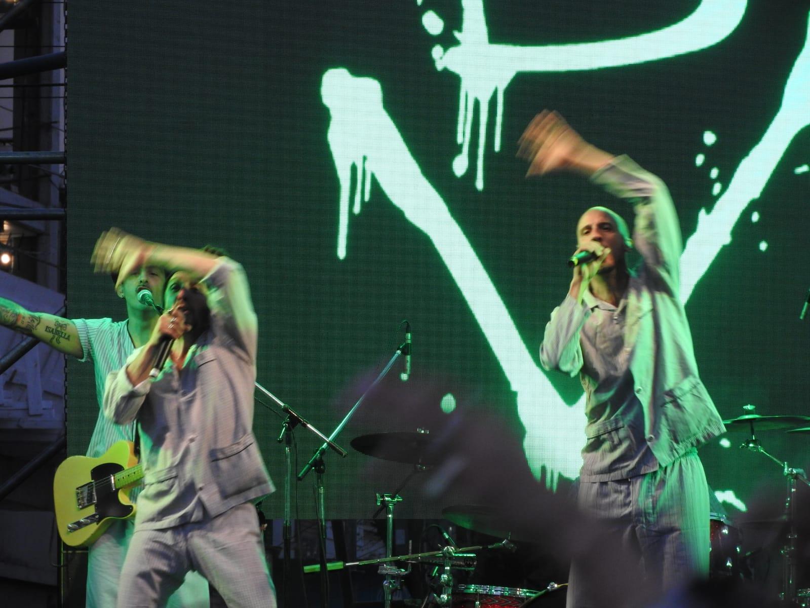 Música y Memoria   Postales del Festival de la Juventud en el ex Olimpo