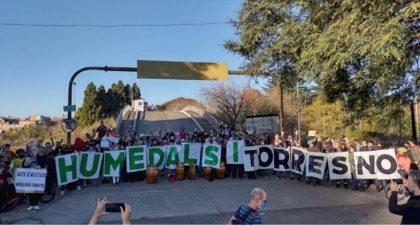 «Basta de cementar el Río»   Vecinos de la Comuna 10 participaron de la Audiencia Pública por el destino de Costanera Sur