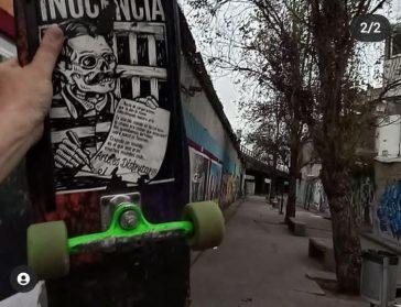 Una pista de skate en Villa Luro   Vecinos impulsan la primera pista pública y techada en un predio abandonado bajo la autopista